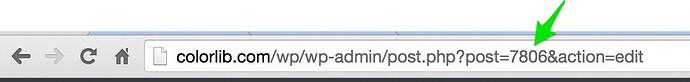 WordPress Post ID