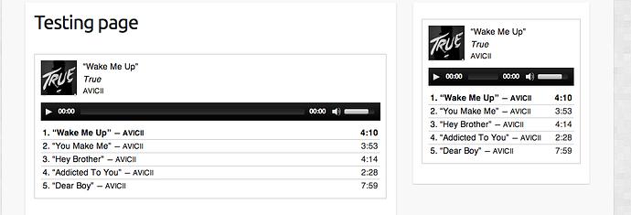 WordPress Audio Playlist - Travelify